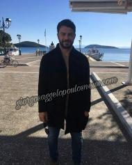 Ο Γιώργος κατά την επίσκεψή του στη Σκιάθο στις 21 Νοεμβρίου 2017 Φωτογραφία: giorgosaggelopoulos_news