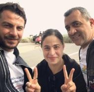 Ο Γιώργος μαζί με τους δημοσιογράφους Λουκά Φουρλά και Χριστίνα Αντωνίου στη φιλανθρωπική εκδήλωση για τη στήριξη οικογενειών με παιδιά που πάσχουν από κακοήθεια που έγινε στη Λεμεσό στις 23 Δεκεμβρίου 2017 Φωτογραφία: chris14antoniou Instagram
