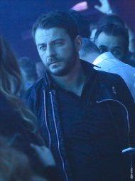 """Ο Γιώργος στο νυχτερινό κέντρο """"Acro"""" όπου εμφανίζεται ο Γιώργος Σαμπάνης και ο ΝΙΒΟ - 24 Νοεμβρίου 2017 Φωτογραφία: Acro official Facebook"""