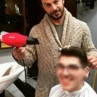 Ο Γιώργος μαζί με φαν ανήμερα των Χριστουγέννων στη Σκιάθο - 25 Δεκεμβρίου 2017 Φωτογραφία: gregoreszakharias Instagram