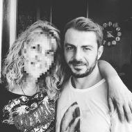 Ο Γιώργος με φαν στο Avanti Cafe-Bar στην Καισαριανή - 25 Σεπτεμβρίου 2017 Φωτογραφία: zeniamagula Instagram
