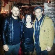 Ο Γιώργος και ο Χρανιώτης με φαν στη Σκιάθο - 28 Δεκεμβρίου 2017 Φωτογραφία: Χρυσοβαλάντου-Ειρήνη Πασχάλη Facebook