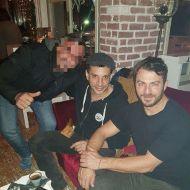 Ο Γιώργος και ο Χρανιώτης με φαν στη Σκιάθο στις 28 Δεκεμβρίου 2017 Φωτογραφία: danos_ga_fp_ Instagram