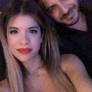 Ο Γιώργος μαζί με την Ιωάννα Μπέη στο Club 22 Live Stage στις 4 Ιανουαρίου 2018 Φωτογραφία: ioanna_bei Instagram