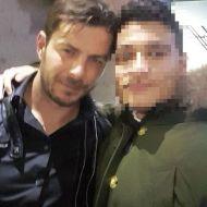 Ο Γιώργος μαζί με φαν στο Club 22 Live Stage στις 4 Ιανουαρίου 2018 Φωτογραφία: kostas_simakos Instagram