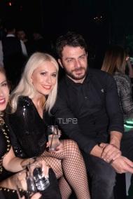 Ο Γιώργος και η Μαρία Μπακοδήμου στο Estate για την πρεμιέρα των Σάκη Ρουβά και Ειρήνης Παπαδοπούλου - 8 Δεκεμβρίου 2017 Φωτογραφία: TLife