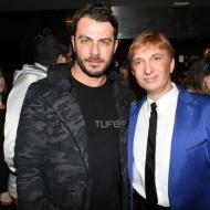 """Ο Γιώργος μαζί με τον Μάκη Δελαπόρτα στην παράσταση του δεύτερου """"Το πρώτο μας πάρτι"""" στο θέατρο Coronet - 9 Ιανουαρίου 2018 Φωτογραφία: TLife"""