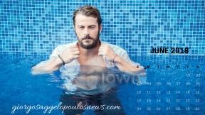 Ημερολόγιο Γιώργος Αγγελόπουλος - Ιούνιος