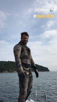 Ο Γιώργος στη Σκιάθο όπου βρέθηκε για το τριήμερο της Καθαράς Δευτέρας - 18 Φεβρουαρίου 2018 Φωτογραφία: official_danos_ga Instagram