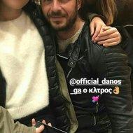 Ο Γιώργος μαζί με μικρούς φίλους και φανς στην Σκιάθο την ημέρα της Καθαράς Δευτέρας - 19 Φεβρουαρίου 2018 Φωτογραφία: demy_kantarakh Instagram