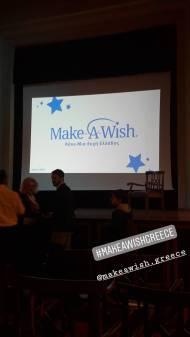 """Ο Γιώργος μαζί του Make A Wish, """"Βραδιά του Ευχαριστώ"""" - 22 Φεβρουαρίου 2018 Φωτογραφία: effie_cups Instagram"""