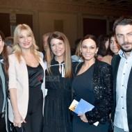 """Ο Γιώργος, η Φαίη και άλλοι στην εκδήλωση """"Βραδιά του Ευχαριστώ"""" του Make a Wish που έγινε στις 22 Φεβρουαρίου 2018 Φωτογραφία: FThis"""