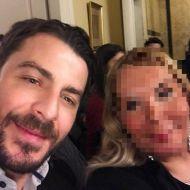 """Ο Γιώργος μαζί με φαν στην εκδήλωση του Make A Wish, """"Βραδιά του Ευχαριστώ"""" - 22 Φεβρουαρίου 2018 Φωτογραφία: sissysworld_com Instagram"""