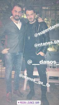 Ο Γιώργος μαζί στο Moon Lounge Bar στη Λευκωσία - 25 Φεβρουαρίου 2018 Φωτογραφία: androhadje Instagram