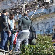 """Ο Γιώργος στην Καλαμπάκα κατά τη διάρκεια γυρισμάτων για το """"Τατουάζ"""" - 5 Φεβρουαρίου 2018 Φωτογραφία: stagonnews.gr"""