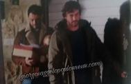 """Ο Γιώργος μαζί με τον Στέφανο στα γυρίσματα της σειράς """"Τατουάζ"""" στην Κύπρο Φωτογραφία: Hello"""