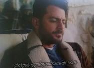"""Ο Γιώργος στα γυρίσματα της σειράς """"Τατουάζ"""" στην Κύπρο Φωτογραφία: Hello"""