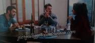 """Ο Γιώργος μαζί με την Κατερίνα και τον Λάζαρο στα γυρίσματα της σειράς """"Τατουάζ"""" στην Κύπρο Φωτογραφία: Hello"""