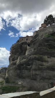 Ο Γιώργος στην Ιερά Μονή Βαρλαάμ στα Μετέωρα - 14 Μαρτίου 2018 Φωτογραφία: official_danos_ga Instagram