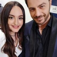 Ο Γιώργος μαζί με την nail artist Μαρία Ράπτη στα Madwalk - 19 Μαρτίου 2018 Φωτογραφία: mairi_r13 Instagram