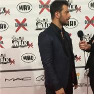 Ο Γιώργος στα Madwalk 2018 - 19 Μαρτίου 2018 Φωτογραφία: ntanos.official.fp Instagram