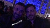 Ο Γιώργος και η Ντορέττα παρακολουθώντας τα Madwalk - 19 Μαρτίου 2018 Φωτογραφία: official_danos_ga Instagram