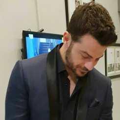 Ο Γιώργος πριν αναχωρήσει για τα Madwalk 2018 - 19 Μαρτίου 2018 Φωτογραφία: to_barberiko Instagram