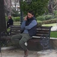 """Ο Γιώργος στο Άλσος Κηφισιάς για τα γυρίσματα του """"Τατουάζ"""" στις 27 Μαρτίου 2018 Φωτογραφία: giwrgosaggelopoulosfp Instagram"""