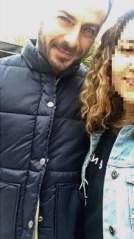 """Ο Γιώργος μαζί με φαν στο Άλσος Κηφισιάς όπου βρέθηκε για τα γυρίσματα του """"Τατουάζ"""" στις 27 Μαρτίου 2018 Φωτογραφία: pelagia.lin Instagram"""