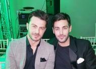 Ο Γιώργος μαζί με τον Κώστα Μαρτάκη στην 23η Athens Xclusive Designers Week στο Ζάππειο - 29 Μαρτίου 2018 Φωτογραφία: martakis Instagram