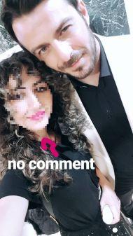 """Ο Γιώργος μαζί με φαν στα βραβεία Madame Figaro """"Γυναίκες της χρονιάς"""" - 17 Απριλίου 2018 Φωτογραφία: georgiaevxx Instagram"""