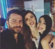 """Ο Γιώργος στα βραβεία Madame Figaro """"Γυναίκες της χρονιάς"""" - 17 Απριλίου 2018 Φωτογραφία: marilia_yiallouridou Instagram"""