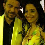 """Ο Γιώργος στα βραβεία Madame Figaro """"Γυναίκες της χρονιάς"""" - 17 Απριλίου 2018 Φωτογραφία: michaelatheo Instagram"""