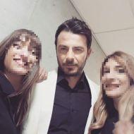 """Ο Γιώργος στα βραβεία Madame Figaro """"Γυναίκες της χρονιάς"""" - 17 Απριλίου 2018 Φωτογραφία: pavlina_13 Instagram"""