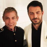"""Ο Γιώργος στα βραβεία Madame Figaro """"Γυναίκες της χρονιάς"""" - 17 Απριλίου 2018 Φωτογραφία: roysherodotou Instagram"""