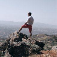 Ο Γιώργος κατά τη διάρκεια του διαφημιστικού για τη NAK Shoes στο Ηράκλειο Κρήτης - 28 Απριλίου 2018 Φωτογραφία: manoschalampalakis Instagram