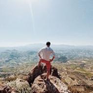 Ο Γιώργος κατά τη διάρκεια του διαφημιστικού για τη NAK Shoes στο Ηράκλειο Κρήτης - 28 Απριλίου 2018 Φωτογραφία: official_danos_ga Instagram