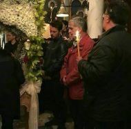 Ο Γιώργος στη Θεία Λειτουργία του Επιταφίου στη Μονή της Ευαγγελίστριας στη Σκιάθο στις 6 Απριλίου 2018 Φωτογραφία: danos_ga Facebook