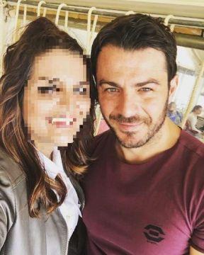 Ο Γιώργος με φαν στη Σκιάθο στις 6 Απριλίου 2018 Φωτογραφία: mitzelaki Instagram