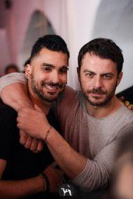 Ο Γιώργος στο Borzoi Club & Restaurant στη Σκιάθο στις 6 Απριλίου 2018 Φωτογραφία: The Borzoi Facebook