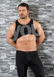 Ο Γιώργος κατά την φωτογράφιση που έκανε για το περιοδικό You Φωτογραφία: Ελεάννα Κουρκουλοπούλου