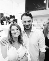 Ο Γιώργος μαζί με φανς στη Ρόδο όπου βρέθηκε για τα εγκαίνια του Treasure & Jewels στις 26 Μαΐου 2018 Φωτογραφία: eleni_svinou Instagram