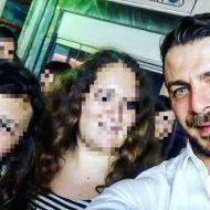 Ο Γιώργος μαζί με φανς στη Ρόδο όπου βρέθηκε για τα εγκαίνια του Treasure & Jewels στις 26 Μαΐου 2018 Φωτογραφία: ipopitsa Instagram