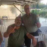 Ο Γιώργος και ο Κούλλης με φίλους στη Ρόδο στις 27 Μαΐου 2018 Φωτογραφία: Filippos Papastamatiou Facebook