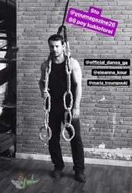 Η φωτογράφιση που έκανε ο Γιώργος για το περιοδικό You που κυκλοφόρησε στις 2 Μαΐου 2018 Φωτογραφία: Ελεάννα Κουρκουλοπούλου