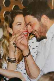 Ο Γιώργος και η Ντορέττα στο YTON music show όπου έκανε εμφανίσεις ο Νίκος Βέρτης - 3 Μαρτίου 2018 Φωτογραφίες: Hello