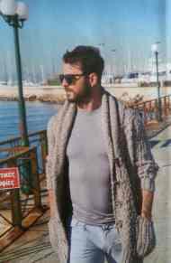Ο Γιώργος στη μαρίνα του Αλίμου προς τα τέλη Φεβρουαρίου Φωτογραφίες: Περιοδικό ΟΚ