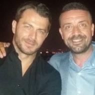 Ο Γιώργος με τον Άκη στο πάρτι του TLife που έγινε στο Galaxy Bar & Restaurant στο Hilton - 21 Ιουνίου 2018 Φωτογραφία: akis.passaris Instagram