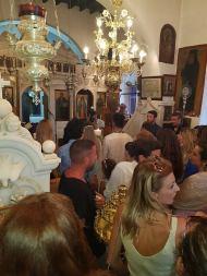 Ο Γιώργος στον γάμο του Γιώργου Χρανιώτη και της Γεωργίας Αβασκαντήρα στην Τήνο - 23 Ιουνίου 2018 Φωτογραφία: Κωστας Πατινιωτης Facebook