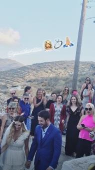 Ο Γιώργος φέρνει τη νύφη Γεωργία Αβασκαντήρα στο μοναστήρι της κυρά Ξένης - 23 Ιουνίου 2018 Φωτογραφία: ionia Instagram
